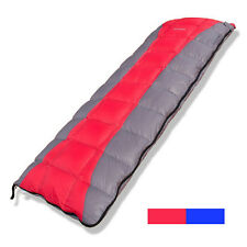 Adult Duck Down Ultralight Lengthen sleeping bag -15 -2 5 degree Outdoor Camping