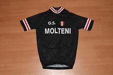 GS MOLTEN  RETRO CYCLING TEAM BIKE JERSEY - EDDY MERCKX - Size XL