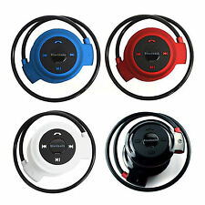 Stereo Bluetooth Headset Headphones Support FM & TF For Nokia Lumia Apple iPhone