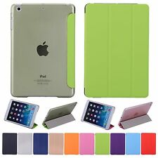 Ultra Slim Magnetic Smart Cover Leather Back Case Stand For iPad Mini / Air