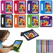 Kids Safty Shockproof Foam Handle Case Cover For Samsung Galaxy Tab 4 8.0 T330
