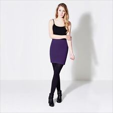 Rock and Rags Womens Ladies Essentials Bodycon Skirt Short Plain Casual Style