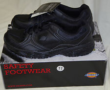 New Dickies Men's Slip Resistant Venue II Work Shoes Size 10 11 12 13 Black