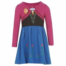 GIRLS DISNEY FROZEN  'ANNA' DRESS AGES 2-10 YEARS *NEW* DRESS-UP, PARTY