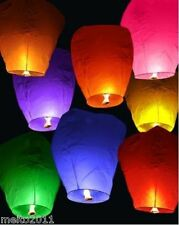 2pcs Hot 9 Color Chinese KongMing Sky Fire Lanterns For Party Wedding Birthday
