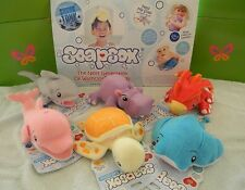 Soapsox Kids Animal Bath Sponge Scrub Wash Toy Turtle Dolphin Duck On Shark Tank