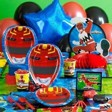 POWER RANGER PARTY SUPPLIES-PLATES-NAPKINS-HATS-CANDLES-GIFT BAGS-BLOWOUTS-BOOKS