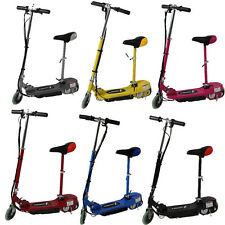 ELECTRIC RIDE ON SIT STAND ELECTRIC SCOOTER ESKOOTER ADJUSTABLE SEAT BATTERY
