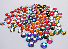 72 Swarovski Foiled Back Crystals - SS5 Ideal For Nail Art - Lovely Colours