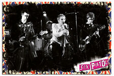 Sex Pistols On Stage Large Wall Poster New - Maxi Size 36 x 24 Inch