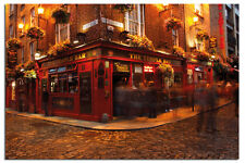 Dublin Ireland The Temple Bar Large Wall Poster New - Maxi Size 36 x 24 Inch