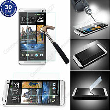 ★ 100% GENUINE TEMPERED REAL GLASS FILM SCREEN PROTECTOR FOR HTC ONE HTC DESIRE★