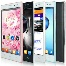 USA 5.5'' Android 4.4.2 Dual Sim 4GB Unlocked Smartphone GPS WIFI AT&T T-Mobile