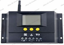 Solar Charge Controller 30A 20A LCD display,PWM 12V/24V Battery Panel Regulator