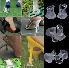 1 Pair Footful Clear Stiletto High Heel Protectors Covers Shoes Stoppers