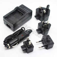 New AC/DC Wall+Car Digital Camera Charger Adapter For Canon NB-4L NB4L Battery