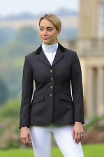 Shires Ladies Aston Show Riding Jacket All Sizes Navy, Black, Showing,