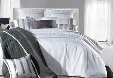 Nova silver Sequins White  Quilt cover / Duvet Cover Set Queen / King size