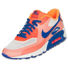 Nike Air Max 90 HYP Premium Womens Size Running Shoes Blue Citrus 454460 100