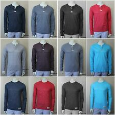 HOLLISTER by Abercrombie Men`s Henley /Crewneck Shirt Pacific Coast NEW ALL SIZE