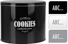 Grandi Cookie tin biscuit TIN BISCOTTI SCATOLA IN LATTA Cookie Storage BOMBOLETTA TORTA