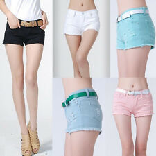 Sexy Fashion Women's Lady's Low Waist Shorts Summer Casual Short Hot Pants 7Size