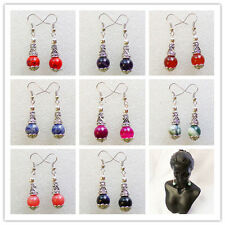 Wholesale!Beautiful Mixed Gemstone Earrings 1Pair or 9Pair XLZ-277