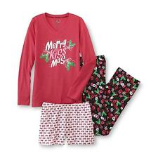 Joe Boxer Women's Pajama Shirt, Pants & Shorts (Merry Kissmas) (3 Pc. Set) (NEW)