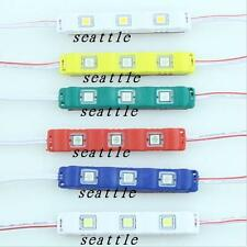 3 LED Module 5050 SMD Waterproof IP65 Injection Decorative Strip Light Lamp 12V