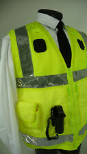 Arktis Load Bearing Traffic Officer EX Police Hi Vis Viz Tactical Tac Vest DE 74