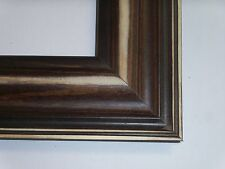 """2.5"""" Distressed Americana Walnut Solid Wood Picture Frame-Custom Panoramic"""