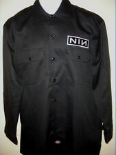 NINE INCH NAILS NIN official DICKIES WORKSHIRT t-shirt ROCK NEW  ALL SIZES metal