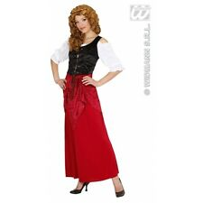 Ladies Womens Tavern Wench Costume Outfit for Middle Ages Medieval Fancy Dress