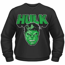 AVENGERS ASSEMBLE The Incredible Hulk Marvel CREW NECK SWEATER PULLOVER NEU