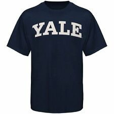 Mens Yale Bulldogs Navy Blue Arch T-Shirt