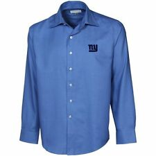 Cutter & Buck New York Giants Light Blue Epic Long Sleeve Button-Down Shirt