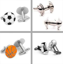 Choose Your Sport Theme Series Executive Cufflinks - Set of 2 with Jewelry Box