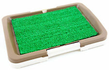 """Puppy Potty Trainer Indoor Grass Training Patch - 3 Layers  - 18"""" x 13"""""""