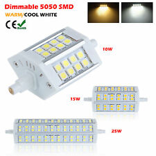 R7S Bombillas 78/118mm 10W 15W 25W 5050 SMD LED Cron Lamp Flood Light AC 85-265V
