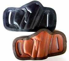 AKAR LEATHER QUICK DRAW BELT SLIDE HOLSTER FOR~CHOOSE YOUR GUN!