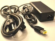 AC Adapter Charger for Lenovo Essential, G Series Models (Rectangle Plug Tip)
