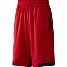 adidas Mens All World Knee Length Shorts - Red - (G76529) rrp£30