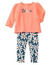 NWT Gymboree Girls The Daisy and the Tiger Bloom Flower Set Size 3-6-12-18-24 M