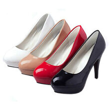 Trendy Womens Formal occasion High Heels Platform Shoes Club Stiletto Sexy Pumps