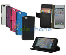 Luxury Leather PU Flip Card  Wallet Stand Case Cover For Apple iPhone 5 5s