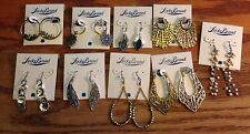 Lucky Brand Silver & Gold Dangle Earrings Many Styles Available New  MSRP $29