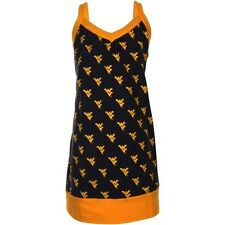 West Virginia Mountaineers Youth Fireworks Tank - Navy Blue/Old Gold - College
