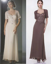 COLORS PARTY LONG Mother Of Bride/Groom HOMECOMING PROM FORMAL DRESS GOWN S -5XL