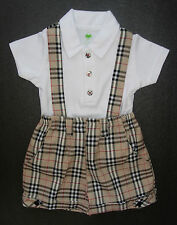 BABY BOY OUTFIT, Top & Shorts, Designer Outfit, Soft Cotton, Ages 0-4 Years Old