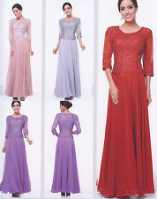 Mother The Bride/Groom PROM COCKTAIL DRESS HOMECOMING EVENING GOWN S- 4XL